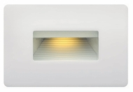 Hinkley 58508SW LED Step Modern Satin White Finish 4.5 Tall LED Outdoor Wall Sconce Lighting