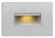 Hinkley 58508TT LED Step Contemporary Titanium Finish 3 Wide LED Exterior Wall Mounted Lamp
