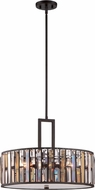 Hinkley FR33735VBZ Gemma Modern Vintage Bronze Drum Hanging Light Fixture
