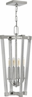 Hinkley FR36014PNI Empire Contemporary Polished Nickel Foyer Lighting