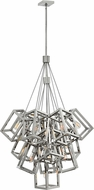 Hinkley FR42449PNI Ensemble Modern Polished Nickel Multi Pendant Light Fixture