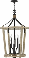 Hinkley FR45208CWW Sherwood Cottage WhiteWash Foyer Light Fixture