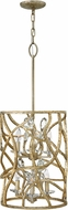 Hinkley FR46805CPG Eve Champagne Gold Foyer Lighting Fixture