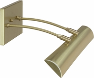 House of Troy DZLEDZ24-51 Zenith Satin Brass LED 24  Painting Light Fixture