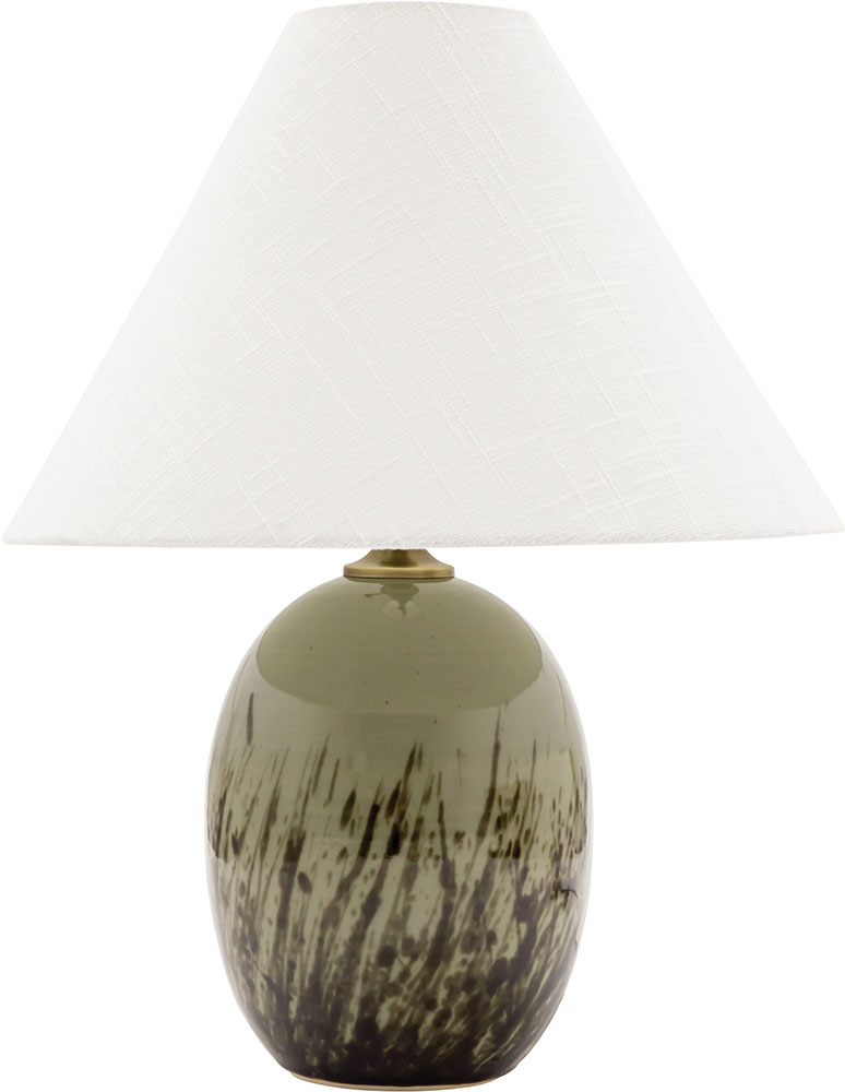 House Of Troy GS140 DCG Scatchard Decorated Celadon Table Lamp Lighting.  Loading Zoom