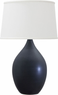 House of Troy GS202-BM Scatchard Black Matte Table Light