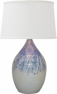 House of Troy GS202-DG Scatchard Decorated Gray Table Lamp Lighting