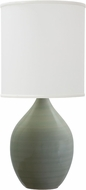 House of Troy GS301-CG Scatchard Celadon Table Top Lamp