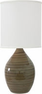 House of Troy GS301-TE Scatchard Tigers Eye Table Lamp Lighting
