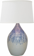 House of Troy GS302-DG Scatchard Decorated Gray Lighting Table Lamp