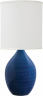 House of Troy GS401-BG Scatchard Blue Gloss Table Lighting