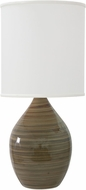 House of Troy GS401-TE Scatchard Tigers Eye Lighting Table Lamp