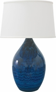 House of Troy GS402-MID Scatchard Midnight Blue Table Top Lamp