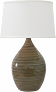 House of Troy GS402-TE Scatchard Tigers Eye Side Table Lamp