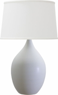 House of Troy GS402-WM Scatchard White Matte Table Lamp