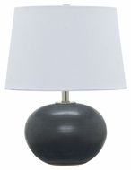 House of Troy GS600-BM Scatchard Black Matte Finish 12  Wide Table Lamp Lighting