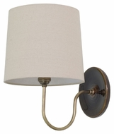 House of Troy GS725-BR Scatchard Brown Gloss Finish 9 Wide Wall Lamp