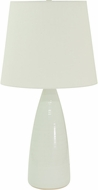 House of Troy GS850-WG Scatchard White Gloss Table Light