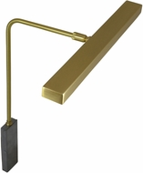 House of Troy HLEDZ12-51 Horizon Satin Brass LED 12  Picture Light
