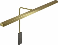 House of Troy HLEDZ26-51 Horizon Satin Brass LED 26  Art Lamp