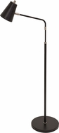 House of Troy K100-BLK Kirby Contemporary Black LED Lighting Floor Lamp