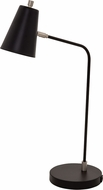 House of Troy K150-BLK Kirby Contemporary Black LED Desk Lamp w/ USB Port