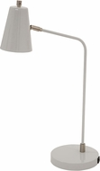 House of Troy K150-GR Kirby Modern Gray LED Reading Light w/ USB Port