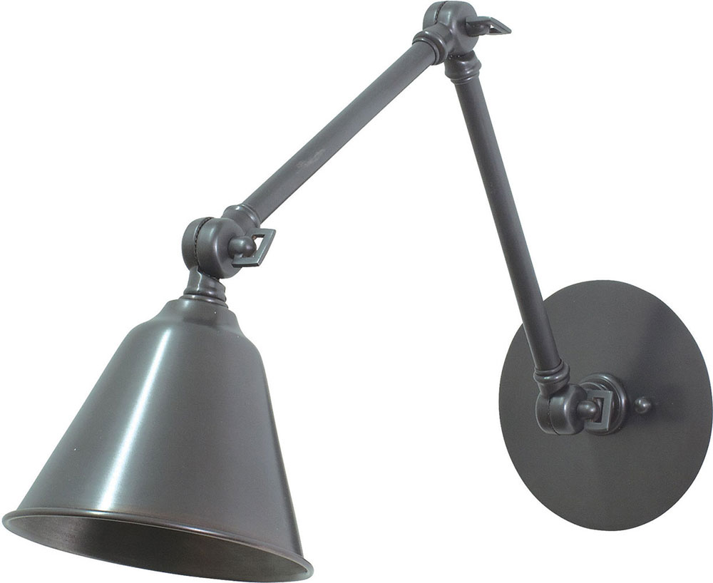 House Of Troy LLED30 OB Library Oil Rubbed Bronze LED Swing Arm Lamp.  Loading Zoom