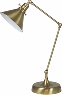 House of Troy OT650-AB-MS Otis Antique Brass Table Lamp