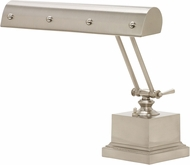 House of Troy PB14-202-SN-PN Piano/Desk Satin Nickel with Polished Nickel Accents Ball Motif Piano Light