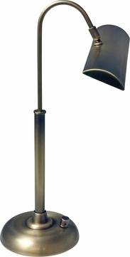 House of Troy PZLEDZ100-71 Zenith Antique Brass LED Piano Lamp