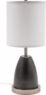 House of Troy RU751-GT Rupert Granite with Satin Nickel Accents Table Lamp Lighting