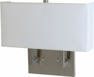 House of Troy WL632-SN Satin Nickel Light Sconce