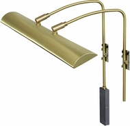 House of Troy ZLEDZ24-51 Zenith Satin Brass LED 24  Art Lighting