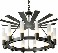 Hubbardton Forge 101503 Piccadilly Chandelier Light