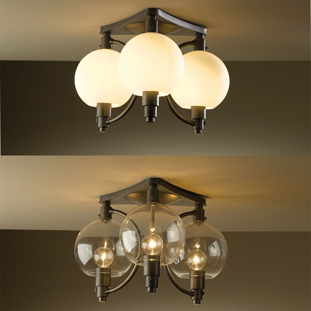 Hubbardton forge 128703 pluto 164 wide ceiling light fixture hubbardton forge 128703 pluto 164nbsp wide ceiling light fixture loading zoom arubaitofo Image collections