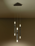 Hubbardton Forge 134601D Helix 21  Tall LED Multi Pendant Light