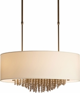 Hubbardton Forge 136321 Cirrus Incandescent Drum Drop Lighting Fixture