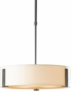 Hubbardton Forge 136753 Impressions Fluorescent Drum Pendant Light