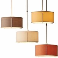 Hubbardton Forge 139601 Exos Drum Hanging Pendant Lighting