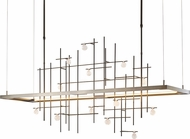 Hubbardton Forge 139751D Spring LED Kitchen Island Light / Chandelier