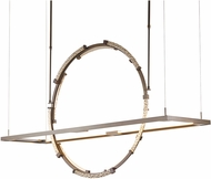 Hubbardton Forge 139757D Theta LED Island Lighting