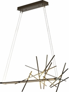 Hubbardton Forge 139778 Cascade LED Kitchen Island Light Fixture