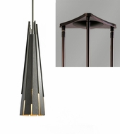 Hubbardton Forge 18510-TRIPLE-TRIANGLE Finn Triple Triangle Multi Lighting Pendant
