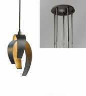 Hubbardton Forge 18653-QUINTUPLE Corona Quintuple Multi Hanging Pendant Lighting