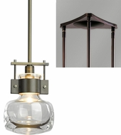 Hubbardton Forge 18733-TRIPLE-TRIANGLE Cuff Triple Triangle Multi Pendant Hanging Light