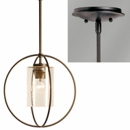 Hubbardton Forge 18744-SINGLE Rhythm Mini Hanging Light Fixture