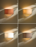 Hubbardton Forge 205963 Cavo Vintage Platinum Finish 8.8  Tall Wall Lamp