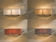 Hubbardton Forge 207680 Exos 6.8  Tall Wall Lighting Sconce