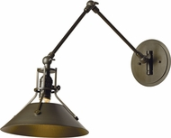 Hubbardton Forge 209320 Henry Wall Swing Arm Lamp